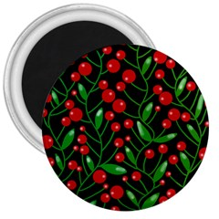 Red Christmas berries 3  Magnets