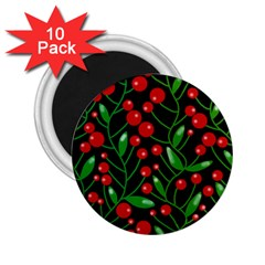 Red Christmas berries 2.25  Magnets (10 pack)