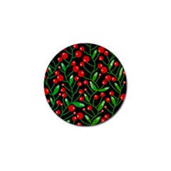 Red Christmas berries Golf Ball Marker (10 pack)