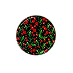 Red Christmas berries Hat Clip Ball Marker (10 pack)