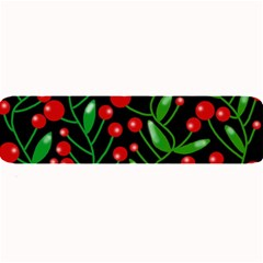 Red Christmas berries Large Bar Mats