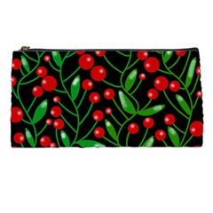 Red Christmas berries Pencil Cases