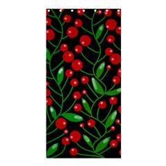 Red Christmas berries Shower Curtain 36  x 72  (Stall)