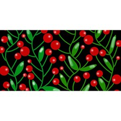 Red Christmas berries YOU ARE INVITED 3D Greeting Card (8x4)