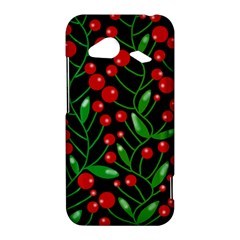 Red Christmas berries HTC Droid Incredible 4G LTE Hardshell Case