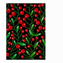 Red Christmas berries Small Garden Flag (Two Sides)
