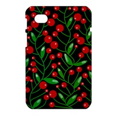 Red Christmas berries Samsung Galaxy Tab 7  P1000 Hardshell Case
