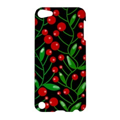 Red Christmas berries Apple iPod Touch 5 Hardshell Case