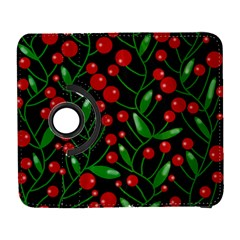 Red Christmas berries Samsung Galaxy S  III Flip 360 Case