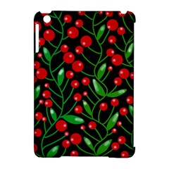 Red Christmas berries Apple iPad Mini Hardshell Case (Compatible with Smart Cover)