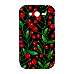 Red Christmas berries Samsung Galaxy Grand DUOS I9082 Hardshell Case