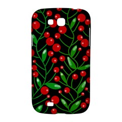 Red Christmas berries Samsung Galaxy Grand GT-I9128 Hardshell Case