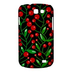 Red Christmas berries Samsung Galaxy Express I8730 Hardshell Case