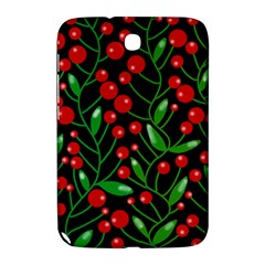Red Christmas berries Samsung Galaxy Note 8.0 N5100 Hardshell Case