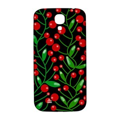 Red Christmas berries Samsung Galaxy S4 I9500/I9505  Hardshell Back Case