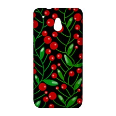 Red Christmas berries HTC One Mini (601e) M4 Hardshell Case