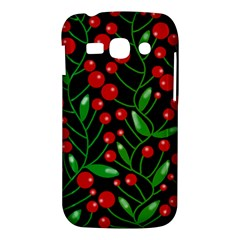 Red Christmas berries Samsung Galaxy Ace 3 S7272 Hardshell Case