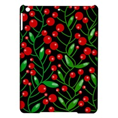 Red Christmas berries iPad Air Hardshell Cases