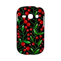 Red Christmas berries Samsung Galaxy S6810 Hardshell Case