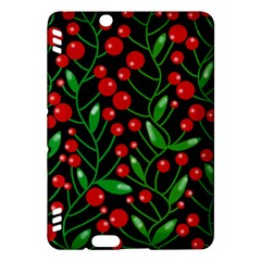 Red Christmas berries Kindle Fire HDX Hardshell Case