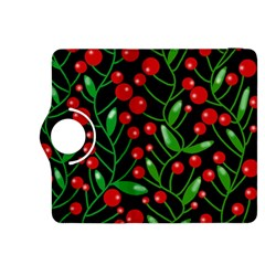 Red Christmas berries Kindle Fire HDX 8.9  Flip 360 Case