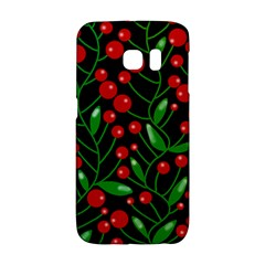 Red Christmas berries Galaxy S6 Edge