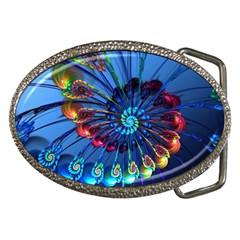 Top Peacock Feathers Belt Buckles