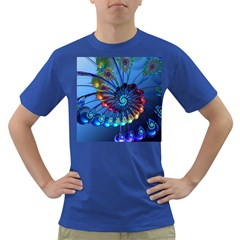 Top Peacock Feathers Dark T-Shirt