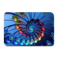 Top Peacock Feathers Plate Mats