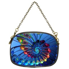Top Peacock Feathers Chain Purses (Two Sides)