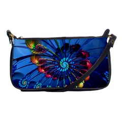 Top Peacock Feathers Shoulder Clutch Bags
