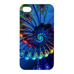 Top Peacock Feathers Apple iPhone 4/4S Hardshell Case