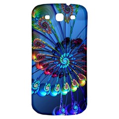 Top Peacock Feathers Samsung Galaxy S3 S III Classic Hardshell Back Case
