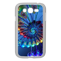 Top Peacock Feathers Samsung Galaxy Grand DUOS I9082 Case (White)