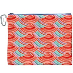 Element Of The Flower Of Life   Pattern Canvas Cosmetic Bag (XXXL)