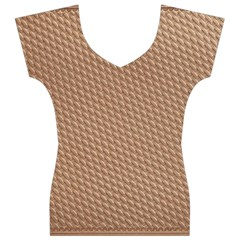 Tooling Patterns Women s V-Neck Cap Sleeve Top