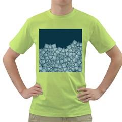 Flower Star Green T Shirt
