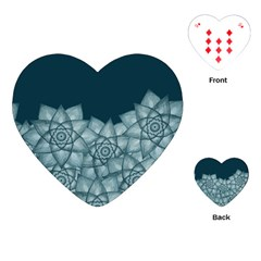 Flower Star Playing Cards (heart)