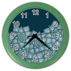 Flower Star Color Wall Clocks