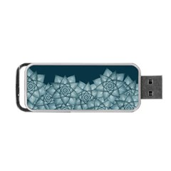 Flower Star Portable Usb Flash (one Side)