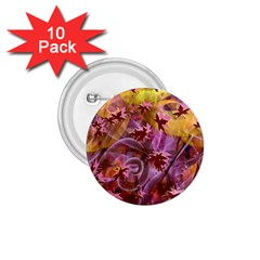 Falling Autumn Leaves 1 75  Buttons (10 Pack)