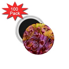 Falling Autumn Leaves 1 75  Magnets (100 Pack)