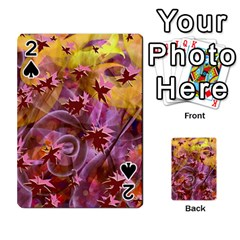 Falling Autumn Leaves Playing Cards 54 Designs