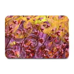 Falling Autumn Leaves Plate Mats