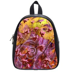 Falling Autumn Leaves School Bags (small)