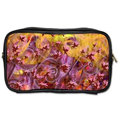 Falling Autumn Leaves Toiletries Bags 2 Side