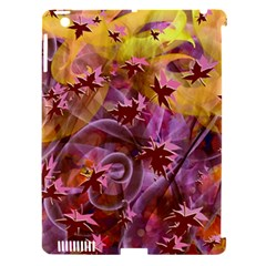 Falling Autumn Leaves Apple Ipad 3/4 Hardshell Case (compatible With Smart Cover)