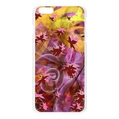 Falling Autumn Leaves Apple Seamless iPhone 6 Plus/6S Plus Case (Transparent)