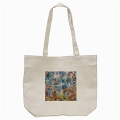 Spirals Tote Bag (cream)