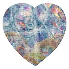 Spirals Jigsaw Puzzle (heart)